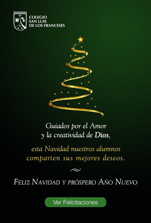 Ver Felicitaciones De Navidad Y Ano Nuevo.Feliz Navidad Colegio San Luis De Los Franceses