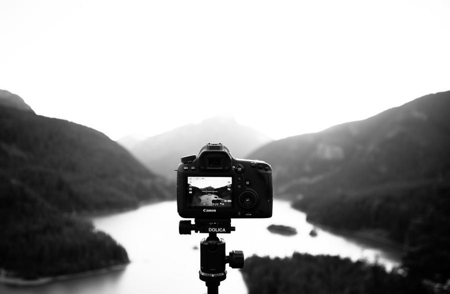 fotografía y diseño gráfico