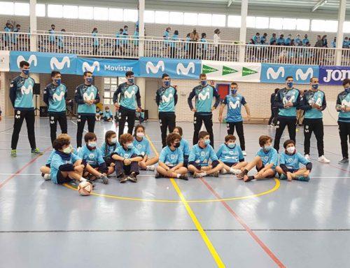 La Gira Movistar Megacracks realiza su primera parada en el colegio